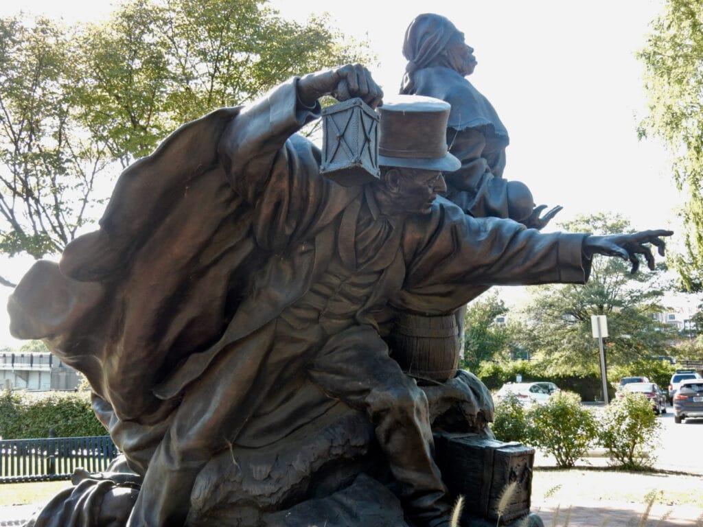 Harriet Tubman and Thomas Garrett Monument Wilmington DE