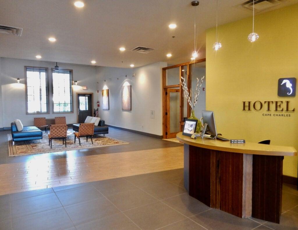 Lobby of Hotel Cape Charles