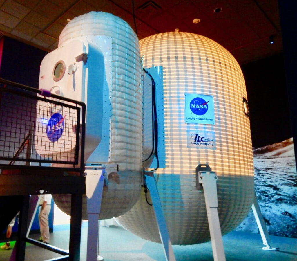 NASA Inflatable Habitat
