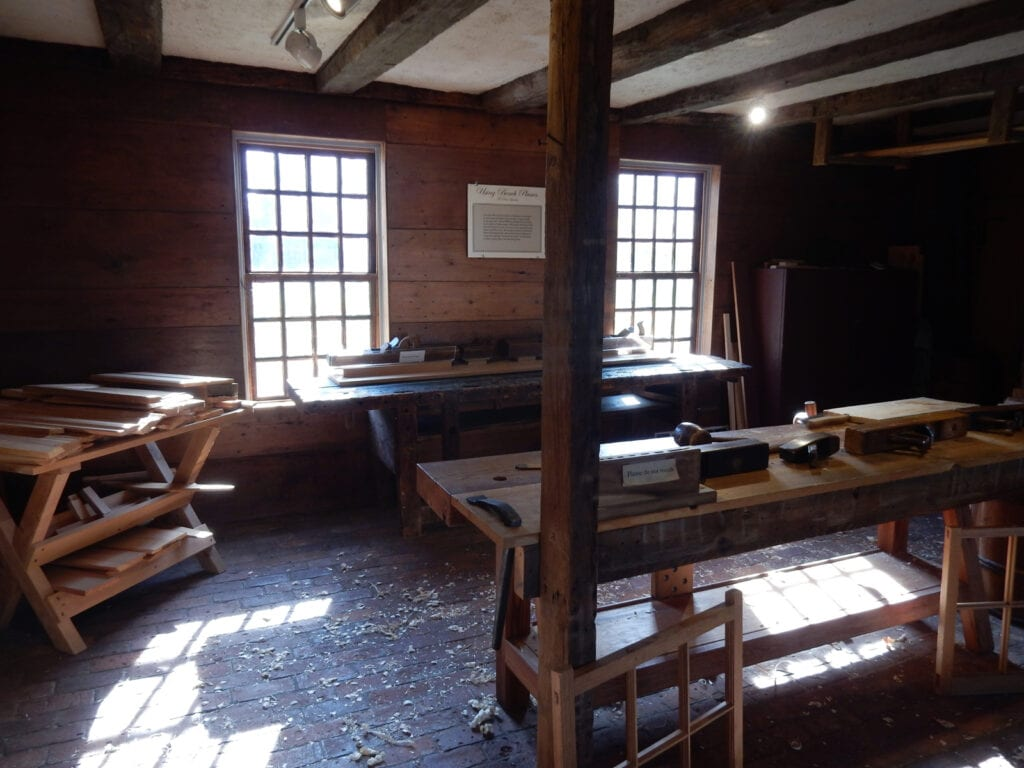 Apprentice Workshop Historic Deerfield MA