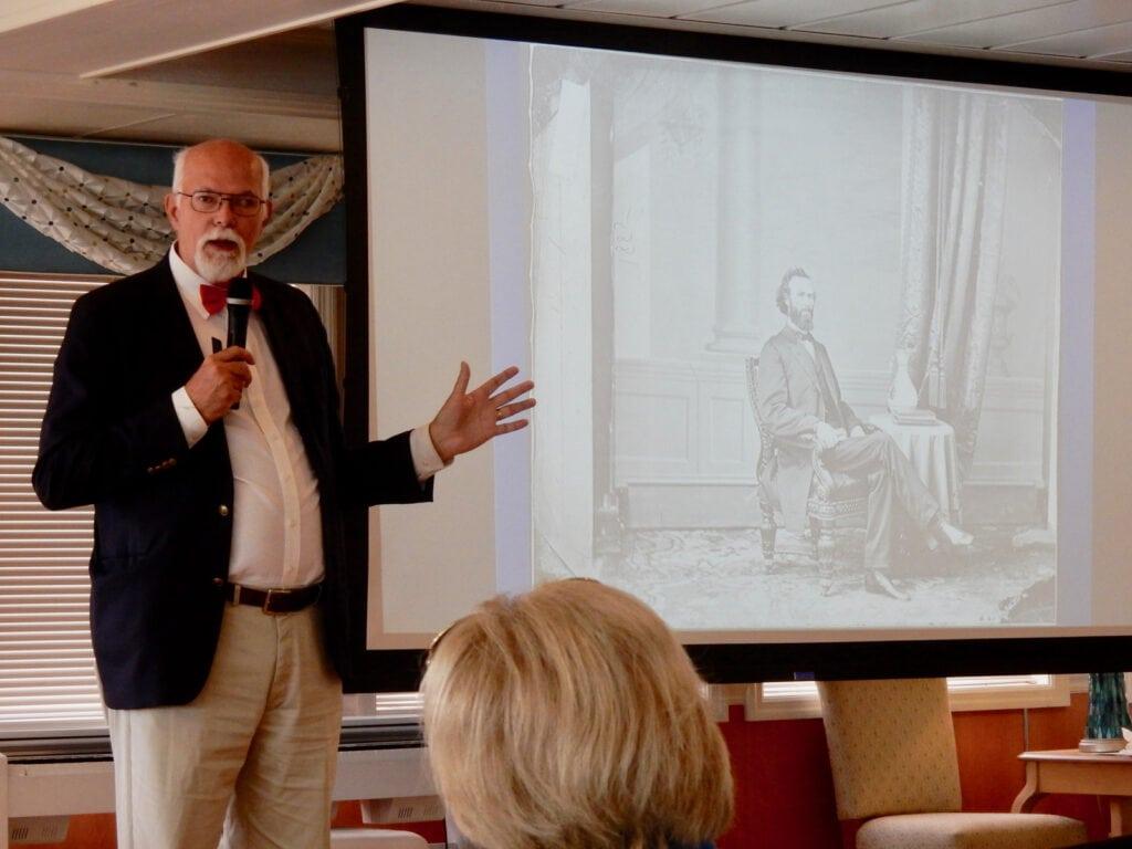 Dale Blanshan Historian ACL Hudson Cruise