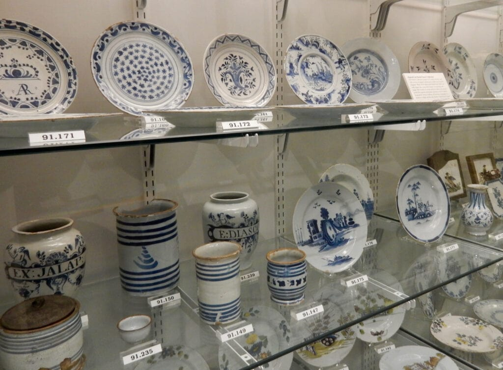 Delftware Collection Flynt Center Historic Deerfield MA