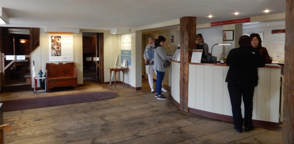 Historic Deerfield Visitors Center interior