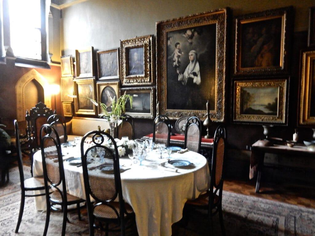 Olana dining room, Hudson NY