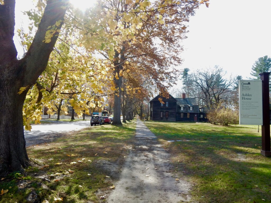 Old Main St Autumn Deerfield MA