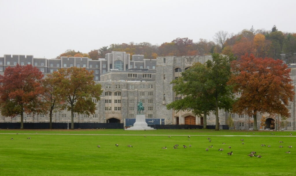 West Point Academy Parade Grounds