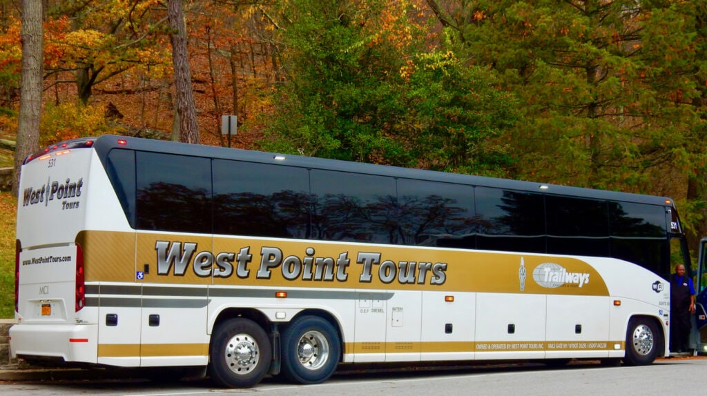 West Point Military Academy Bus Tour