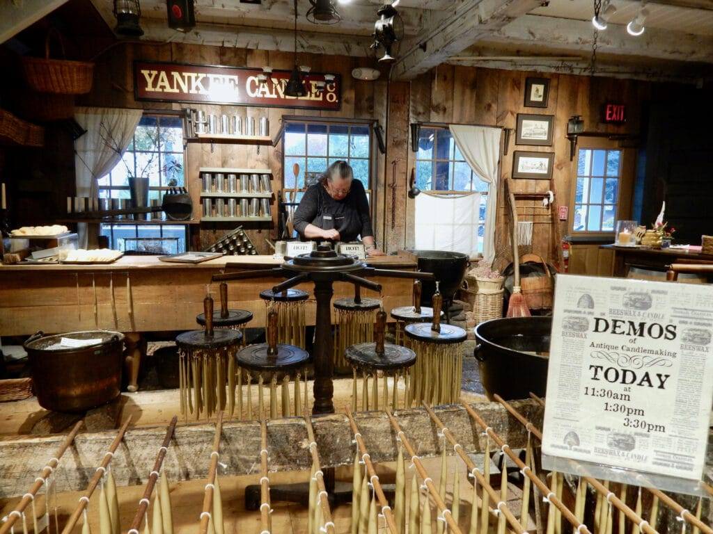 Old Fashioned Yankee Candle Demo Deerfield MA