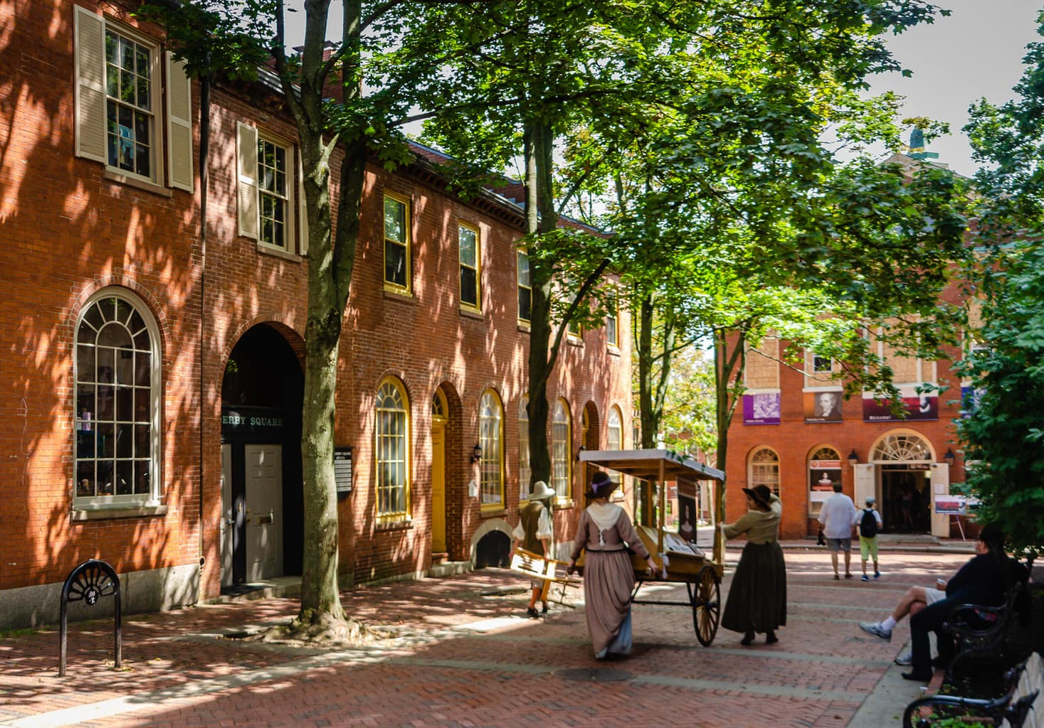 One of the best historic hotels can be found in Salem MA