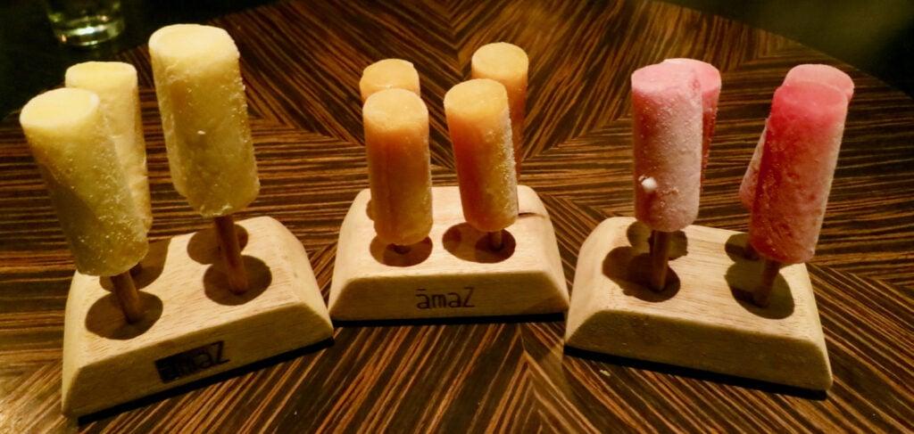 Popsicles Amaz Restaurant Lima Peru