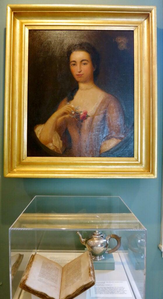 Annis Boudinot portrait Morven Museum Princeton