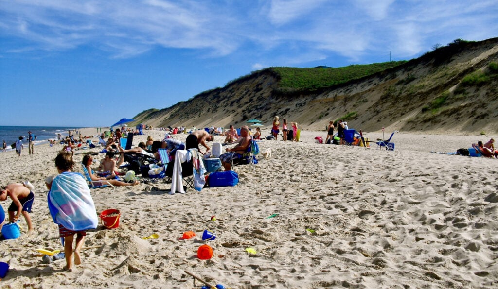 Cahoon Hollow Beach Cape Cod MA
