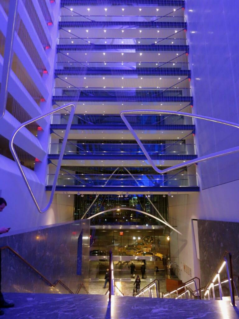Conrad Hotel NYC Entrance