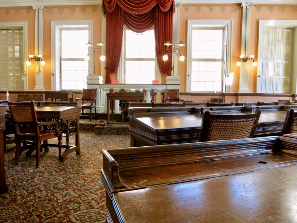 Courtroom Old State House Hartford CT