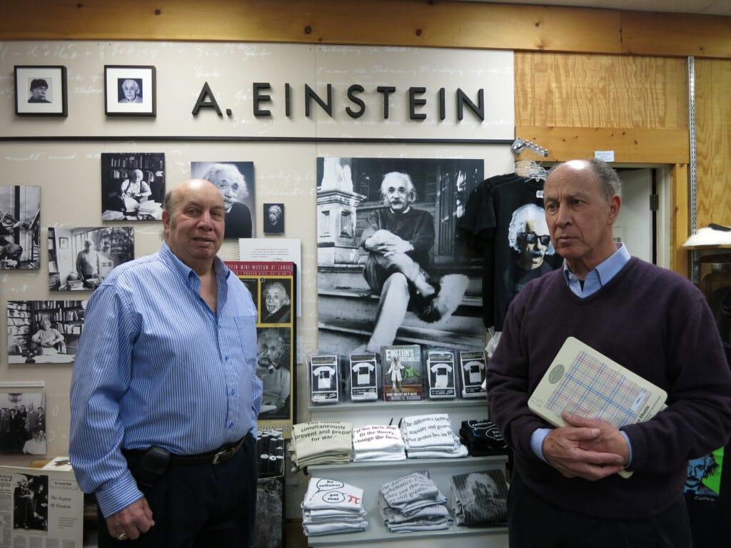 Einstein Exhibit Landau Brothers Princeton NJ