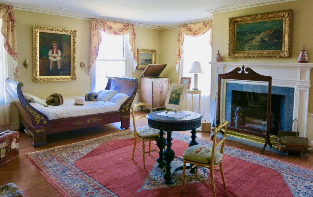 Ethel Barrymore Room Linden Place Bristol RI