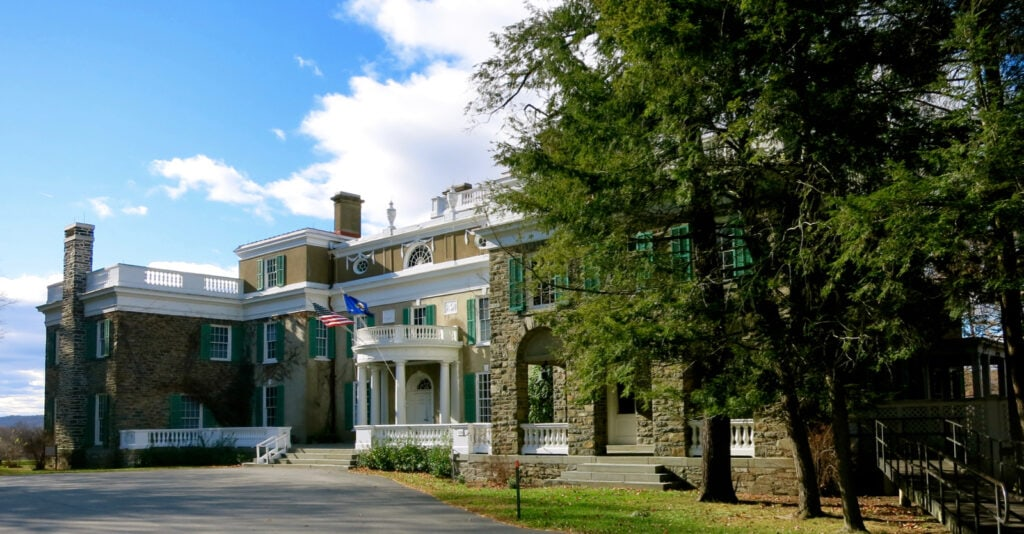FDR Home and Birthplace Hyde Park NY