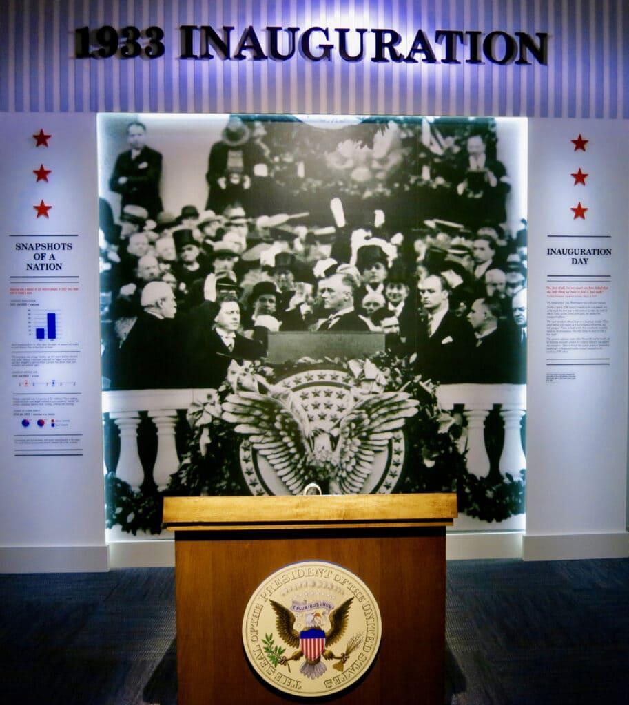 FDR 1st Inauguration Hyde Park NY