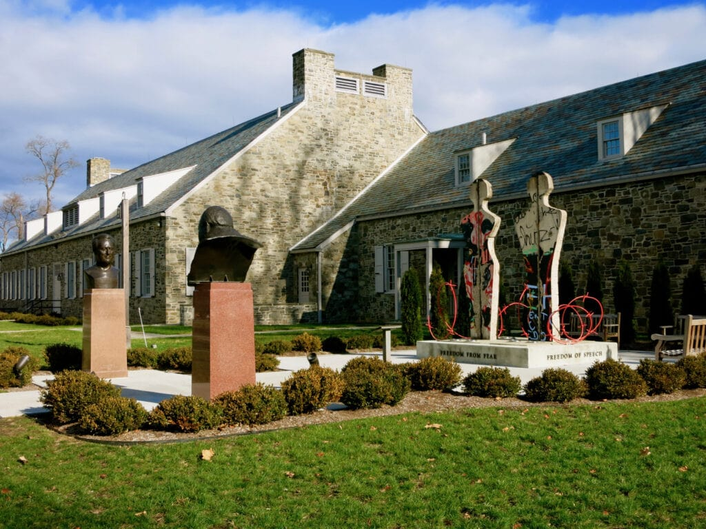FDR Library and Museum Hyde Park NY