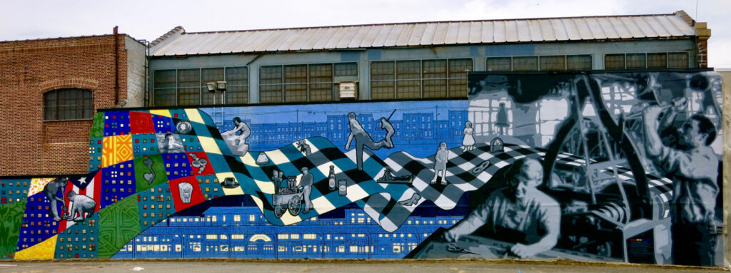 Factory Philly Arts Mural