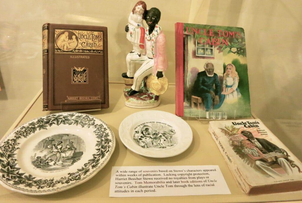 Uncle Toms Cabin Harriet Beecher Stowe House Exhibit Hartford CT