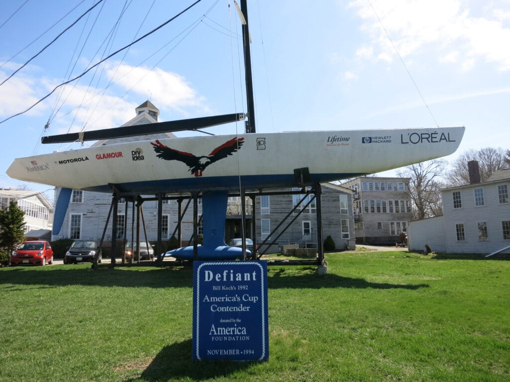 Herreshoff Marine Museum and Americas Cut Hall of Fame Bristol RI