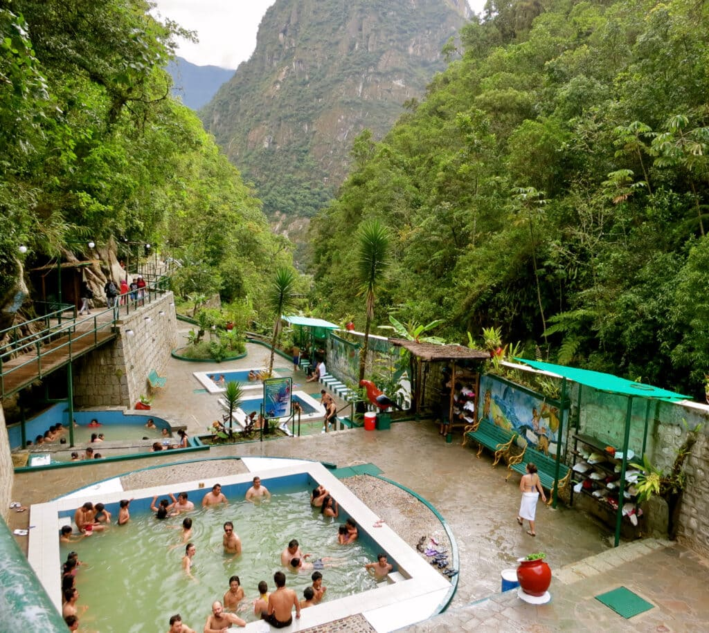 Hot Springs Aguas Calientes Peru