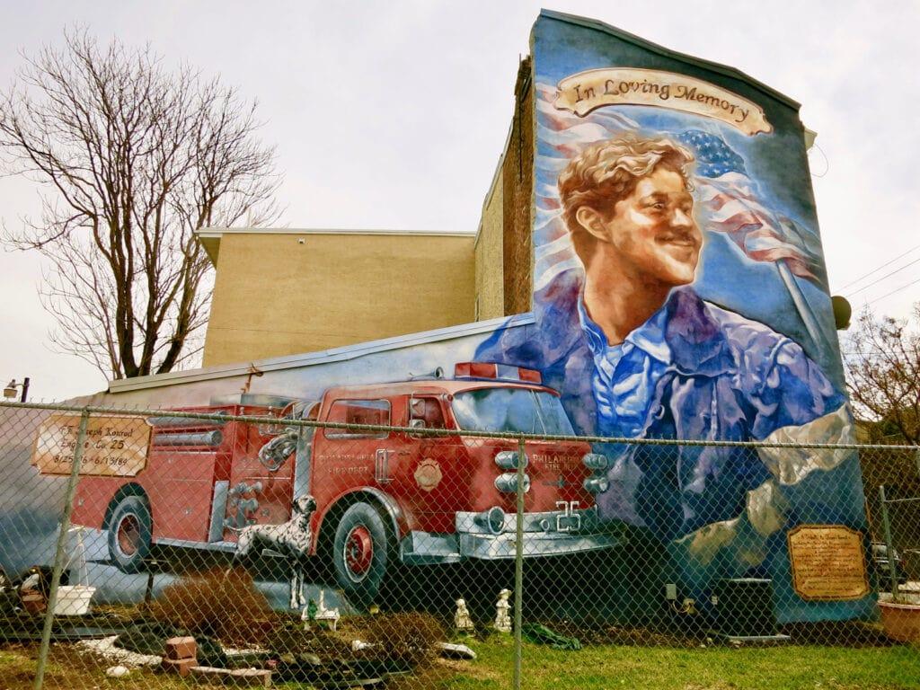 In Loving Memory Mural Philadelphia PA