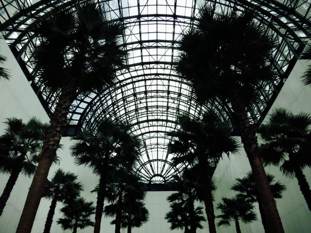 Inside the Wintergarden NYC