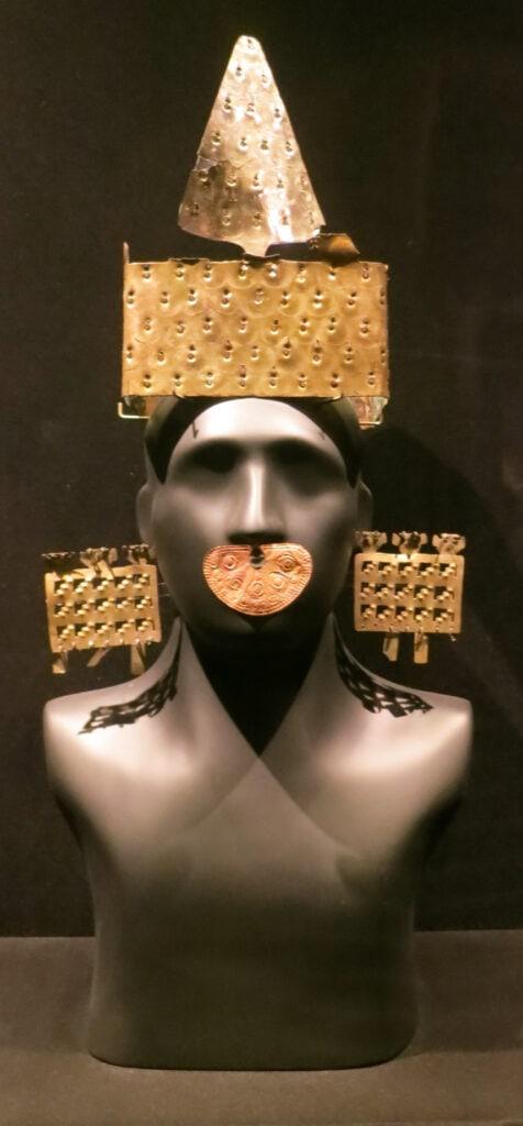 Exhibit Larco Museum Lima Peru