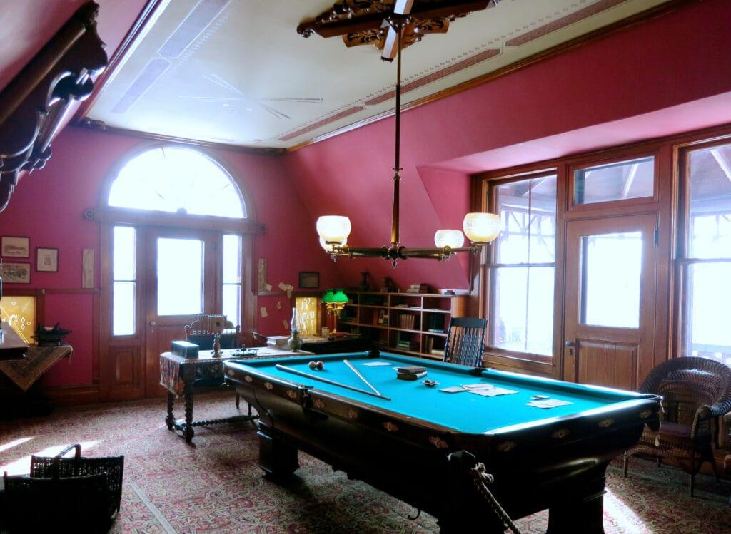 Mark Twain Billiards Room Hartford CT