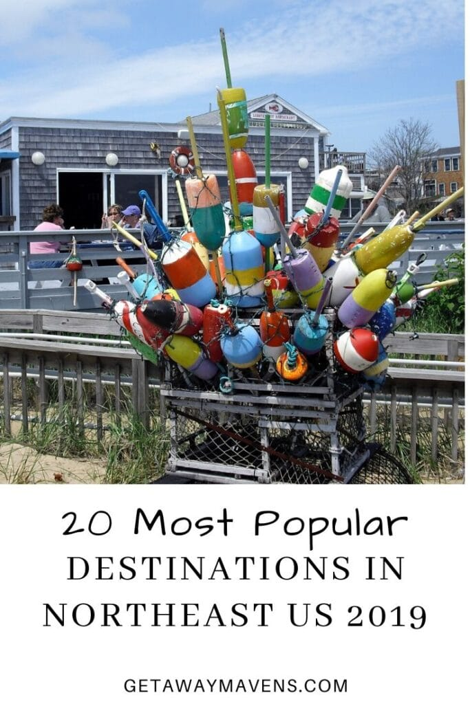 Popular Destinations in Northeast US 2019 Pin