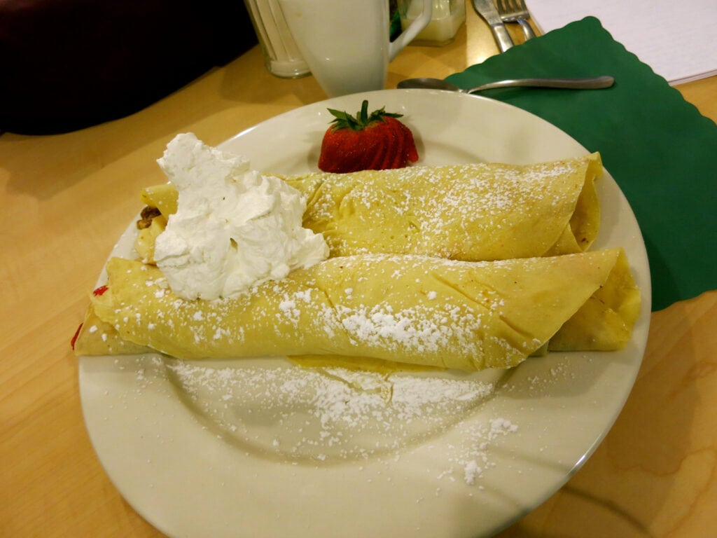 Sunset Cafe Crepes Bristol RI