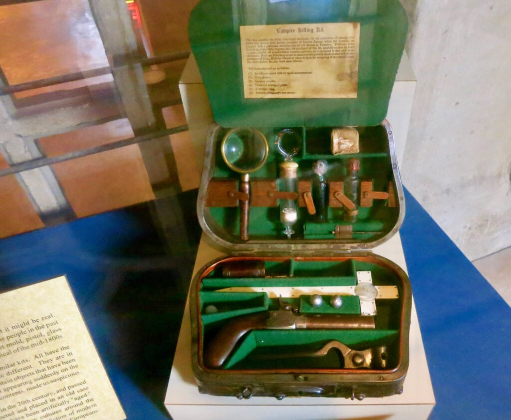 Vampire Killing Kit Mercer Museum Doylestown PA