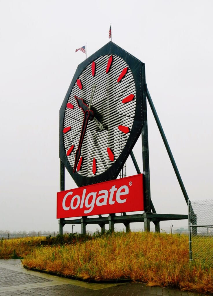 Colgate Clock Jersey City NJ