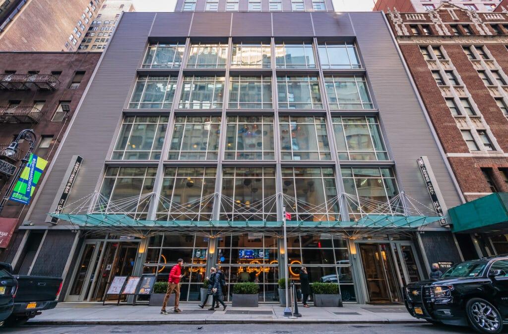 Crown Plaza Hudson Yards Front Entrance
