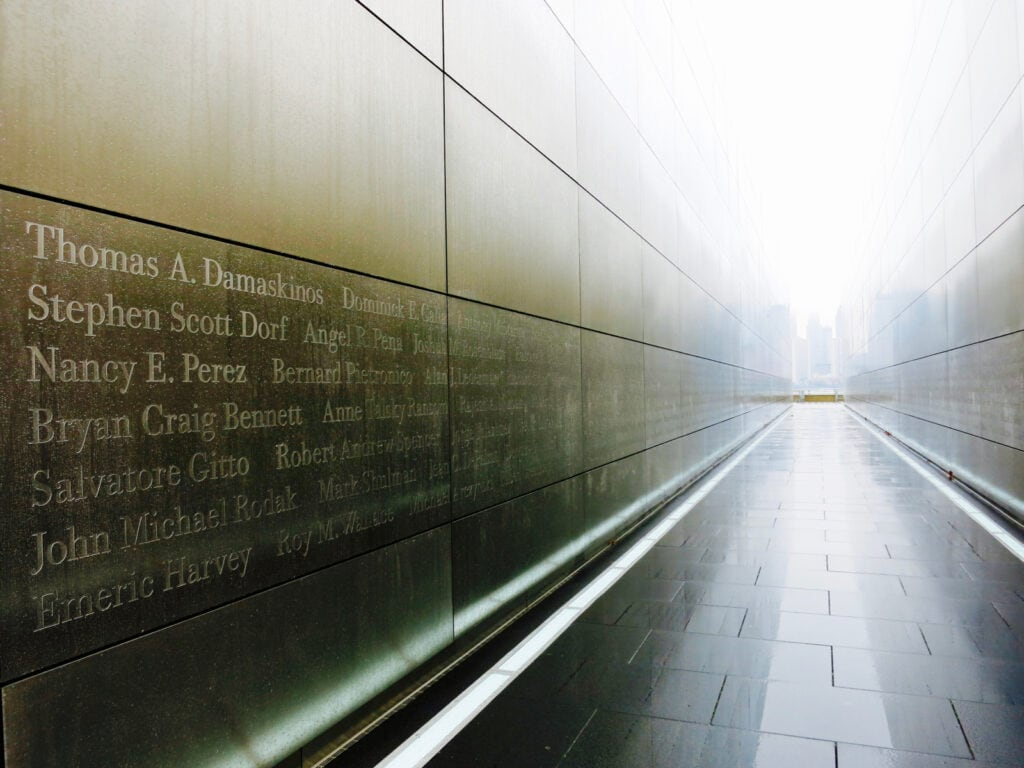 Empty Sky Memorial at Liberty State Park