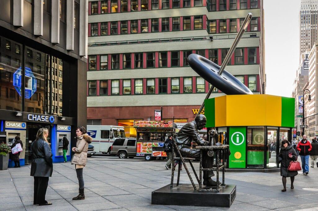 NYC Garment District Sculptures
