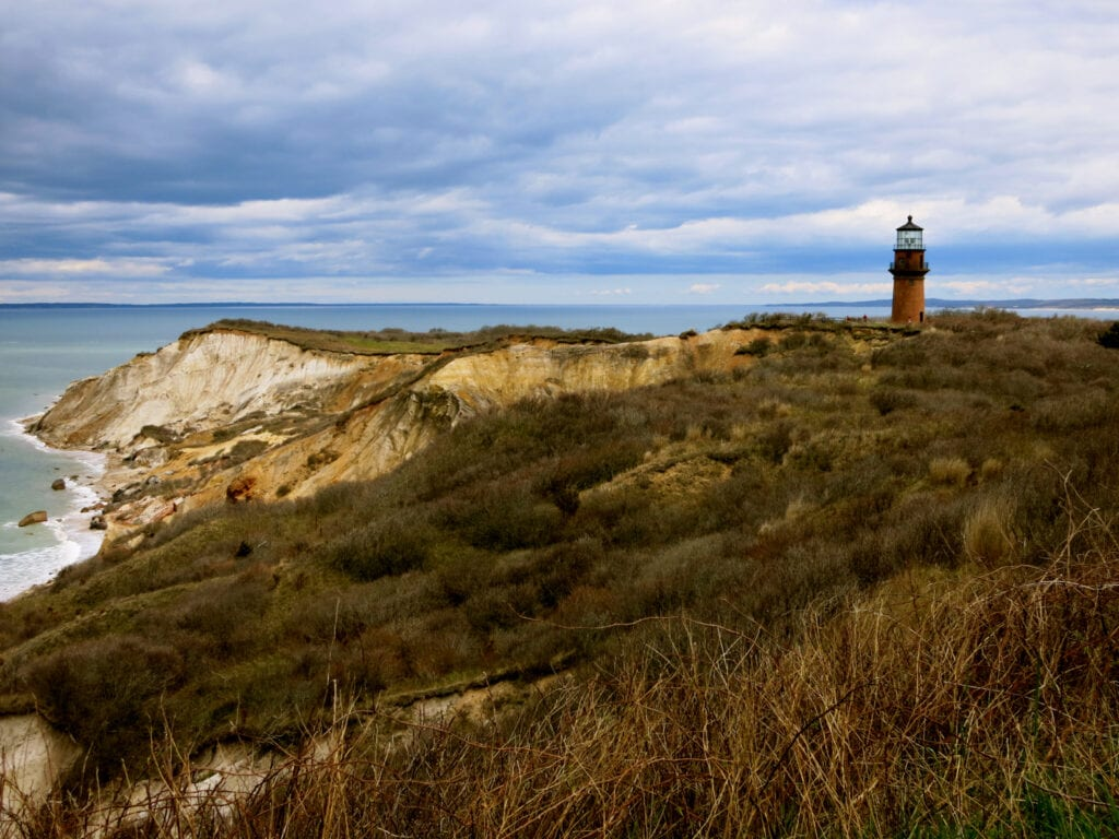 Gay Head Lighthouse Atlantic Ocean Marthas Vineyard MA
