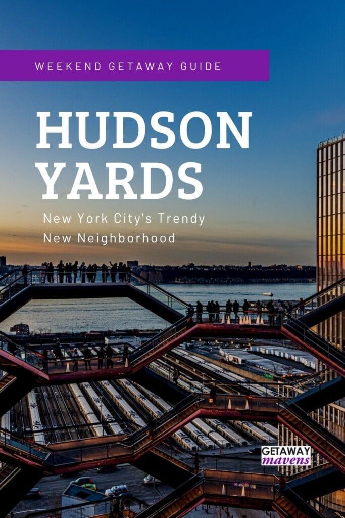 Hudson Yards NYC Pin