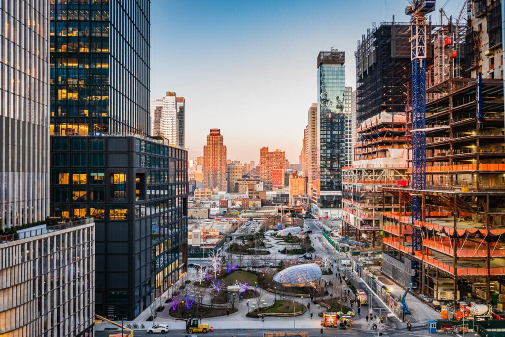 Hudson Yards location includes the 34th Street Hudson Yards Subway Station.