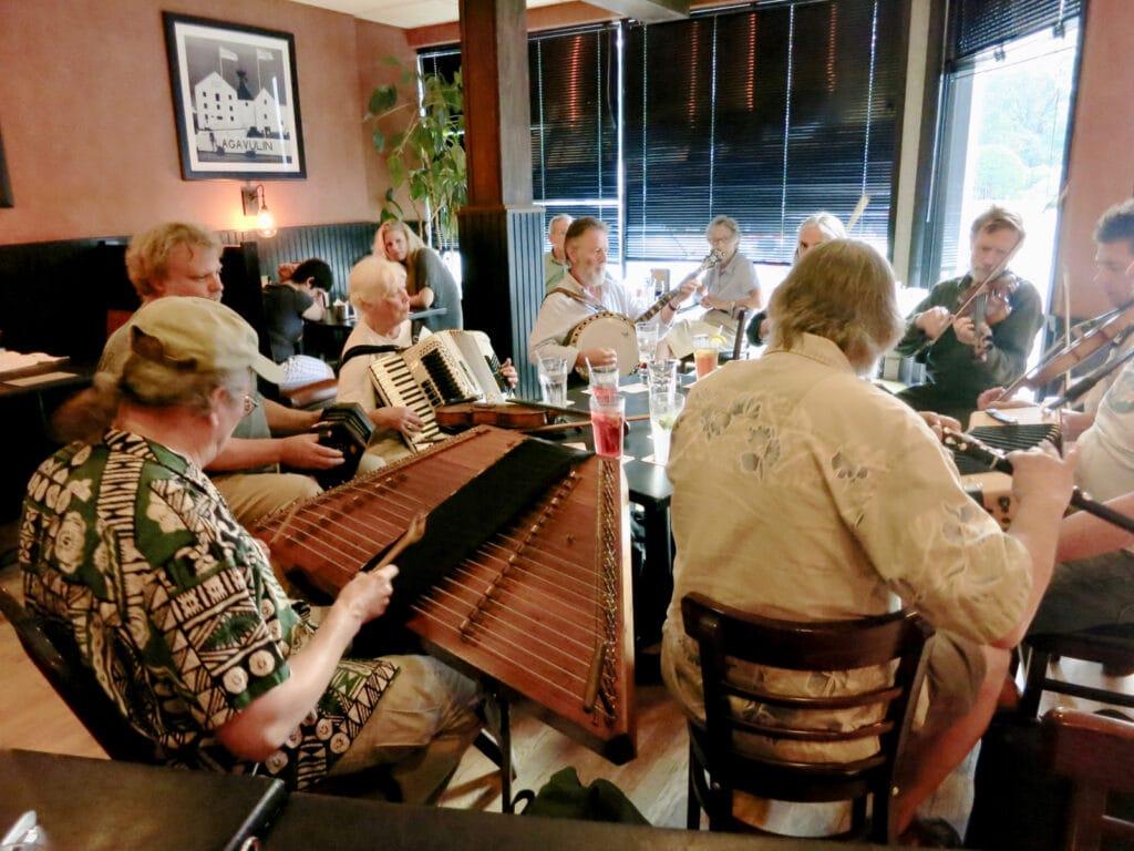 Jamming at The Barley House Concord NH