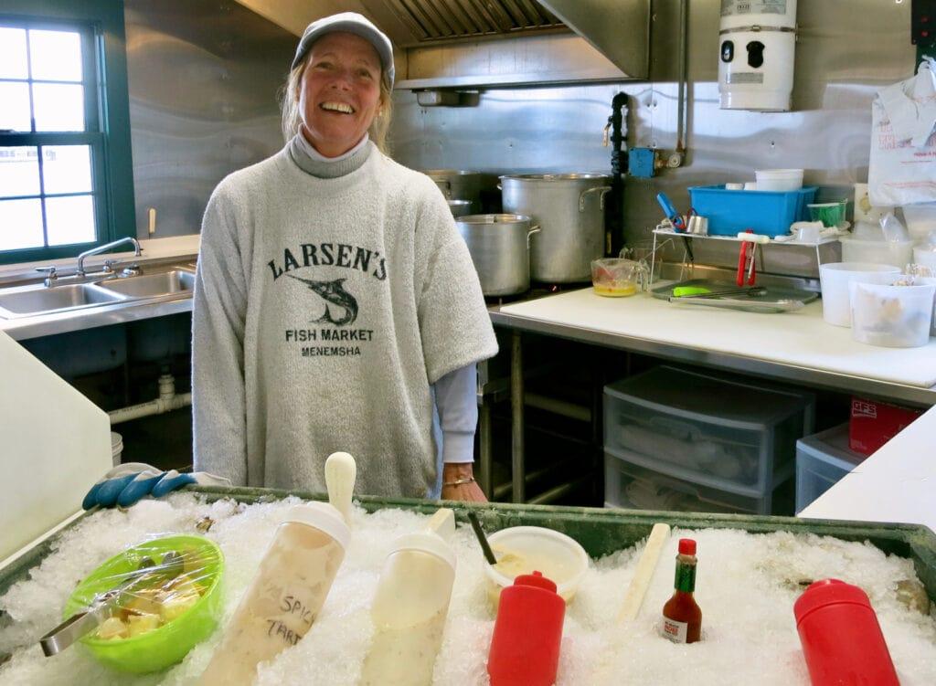 Larsens Fish Market Menemsha MA