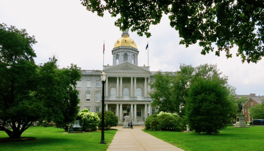 New Hampshire State Capitol Building, Concord NH