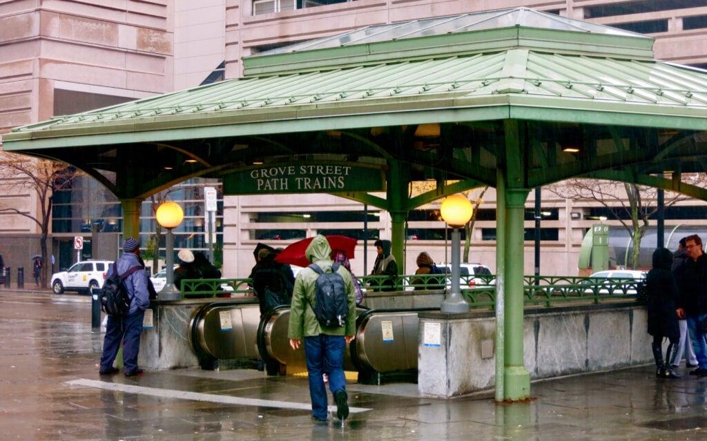 PATH Entrance Jersey City