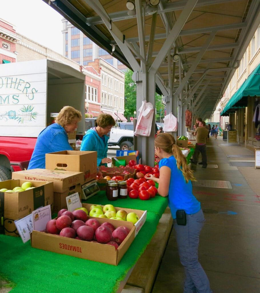 Roanoke VA Farmers Market