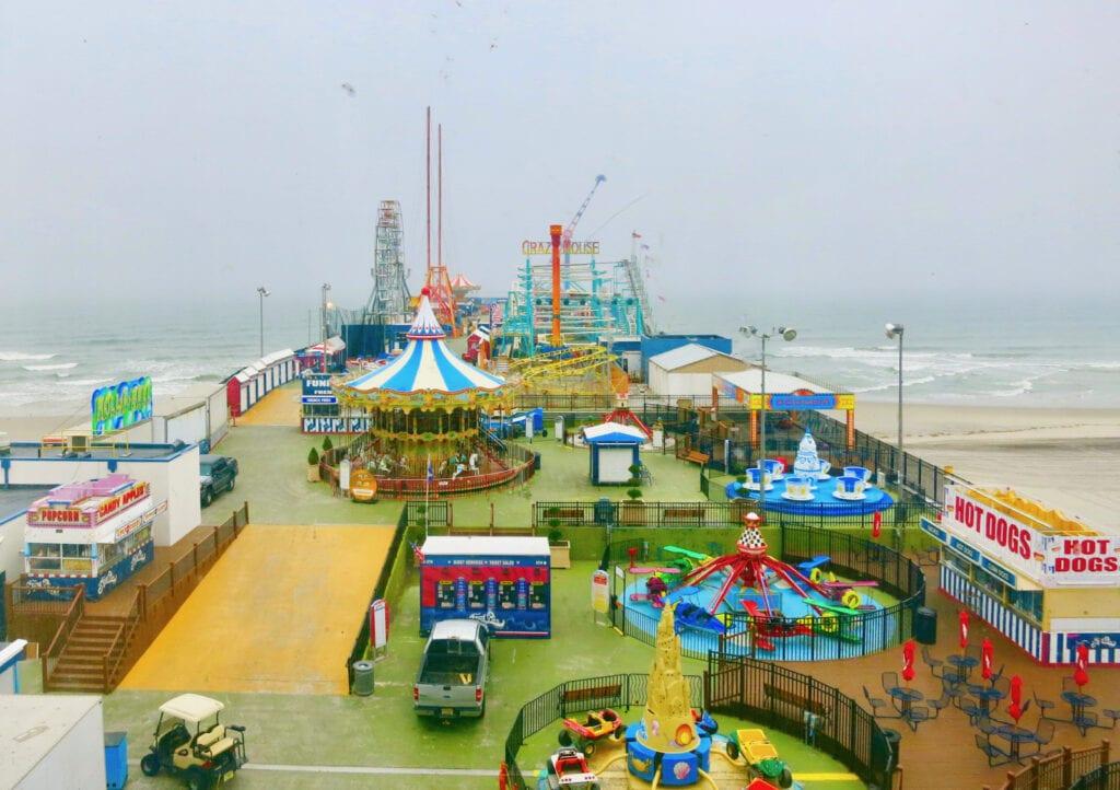 Steel Pier Atlantic City NJ Off Season