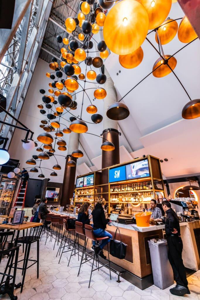 TGA NYC - Restaurant Bar at Crown Plaza Hudson Yards