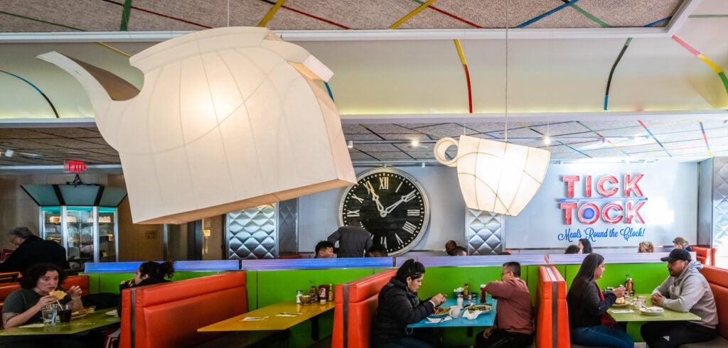 Interior - Tick Tock Diner NYC