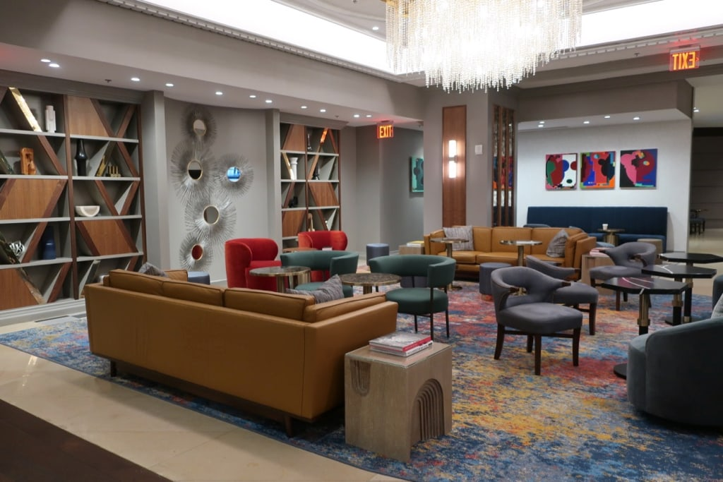 Opus Westchester Lobby